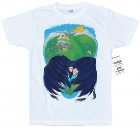 Howl's Moving Castle Inspired T shirt Artwork by ofGiorge