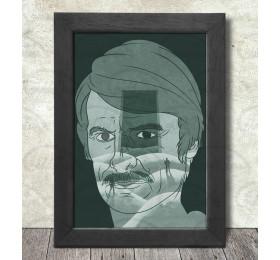 Andrei Tarkovsky Poster Print A3+ 13 x 19 in - 33 x 48 cm