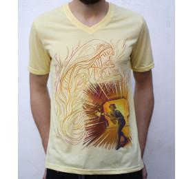 Alien T shirt Artwork
