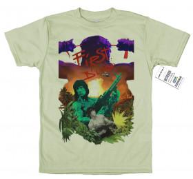 First Blood T shirt Design, Rambo