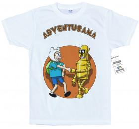 Adventurama T shirt Artwork, #Finn #Jake #Fry #Bender