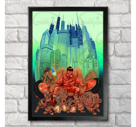 Akira Inspired Poster Print A3+ 13 x 19 in - 33 x 48 cm
