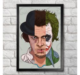 Alex Tyler Joker Poster Print A3+ 13 x 19 in - 33 x 48 cm