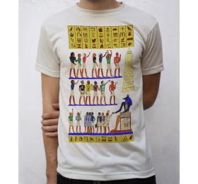Modern 'Ancient Egypt' Writing T shirt Artwork
