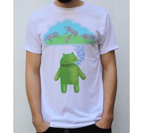 Do Androids Dream of Electric Cheetah T shirt Artwork