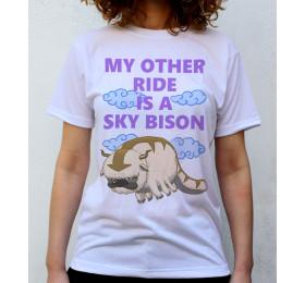 Appa Sky Bison T shirt Artwork