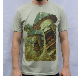 Army of Mushrooms T Shirt Design, Infected Mushroom
