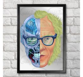 Isaac Asimov Poster Print A3+ 13 x 19 in - 33 x 48 cm