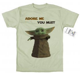 Baby Yoda T shirt Artwork, Mandalorian, Star Wars