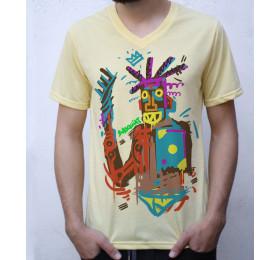 Jean-Michel Basquiat T Shirt Design