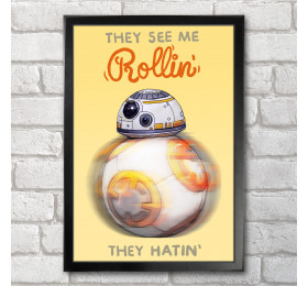 BB8 Droid Poster Print A3+ 13 x 19 in - 33 x 48 cm