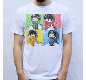 The Beatles - Thug Design T Shirt