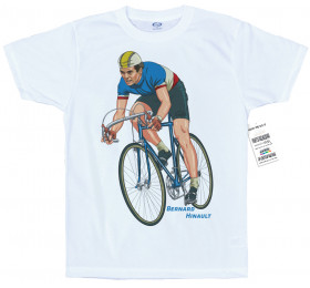 Bernard Hinault T shirt Artwork