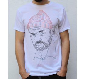 Bill Murray, Steve Zissou T-Shirt Design