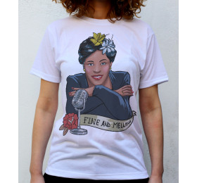 Billie Holiday T shirt Artwork