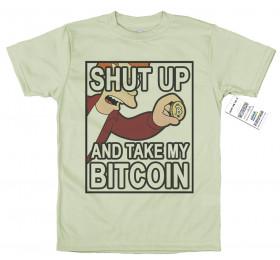 Bitcoin T shirt Design, #Fry
