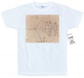 Pioneer plaque T shirt, #Brian Jonestown Massacre, #Aufheben, #Carl Sagan