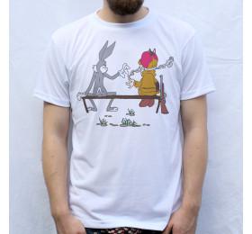 Bugs Bunny & Elmer Fudd T-Shirt Design