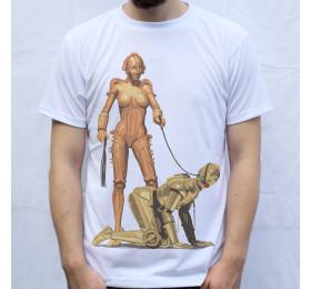 C-3POrn T shirt Design, BDSM, Maria, The Machine Man