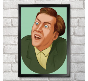 You Don't Say  Poster Print A3+ 13 x 19 in - 33 x 48 cm Nicolas Cage Meme