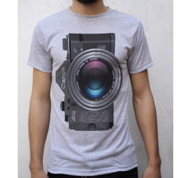 Canon A-1 T shirt Design