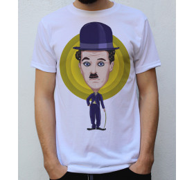 Charlie Chaplin T shirt Artwork