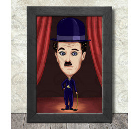 Charlie Chaplin Poster Print A3+ 13 x 19 in - 33 x 48 cm