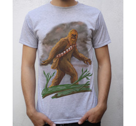 Chewbacca - Bigfoot T shirt Artwork