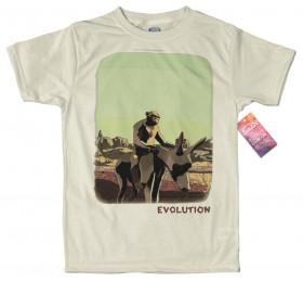 Chimp Evolution Design T Shirt