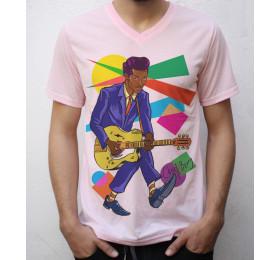 Chuck Berry T shirt Artwork