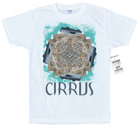 Cirrus T-Shirt Artwork, Bonobo Inspired