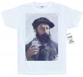 Claude Monet T shirt, Self-ie-Portrait
