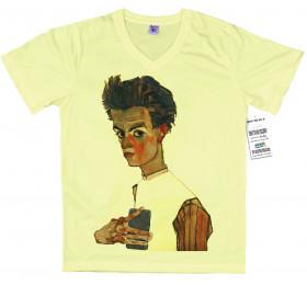 Egon Schiele T shirt, Self-ie-Portrait