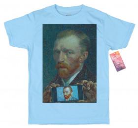 Vincent van Gogh T shirt, Self-ie-Portrait