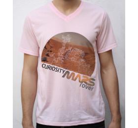 Curiosity Mars T shirt Artwork, NASA, Robotic Rover