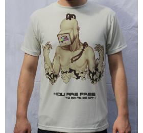 Cyborg T Shirt Design by psyl0