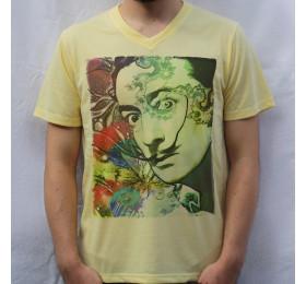 Salvador Dali T-Shirt Psychedelic Design
