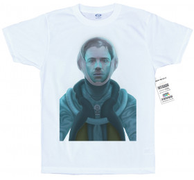 Thought I was a Spaceman T shirt Artwork, Damon Albarn
