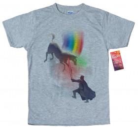 Darth Vader vs Unicorn T shirt Artwork