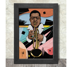 Donald Byrd Poster Print A3+ 13 x 19 in - 33 x 48 cm