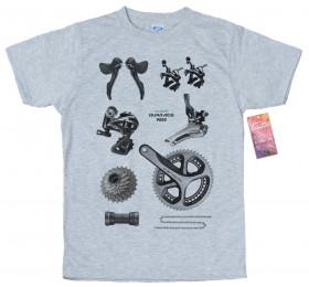 Shimano Dura-Ace 9000 Groupset T shirt Design