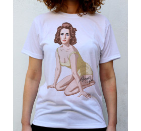 Elizabeth Taylor T shirt Artwork