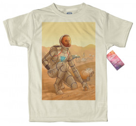 Elon Mars T shirt Artwork, Elon Musk, Tesla on Mars, SpaceX