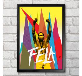 Fela Kuti Poster Print A3+ 13 x 19 in - 33 x 48 cm
