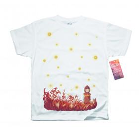 Setsuko & Fireflies T shirt Artwork