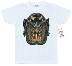 Geometrized Aboriginal Homo Sapiens T-Shirt Design