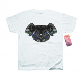 Geometrized Koala T-Shirt Design