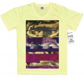 Venus, Cupid, Folly and Time by Agnolo Bronzino T shirt, Glitch Design