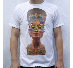 Nefertiti T shirt, Glitch Design
