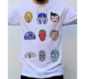 Good Robots T shirt Artwork